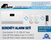 CROW SERENITY CP-32-8F GSM TCP-PSTN-RFID PANEL SETİ