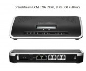 Grandstream UCM 6202 ip Telefon Santrali