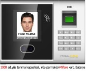 MAGIC FACE MF 855 MF Yüz Taramalı Terminal